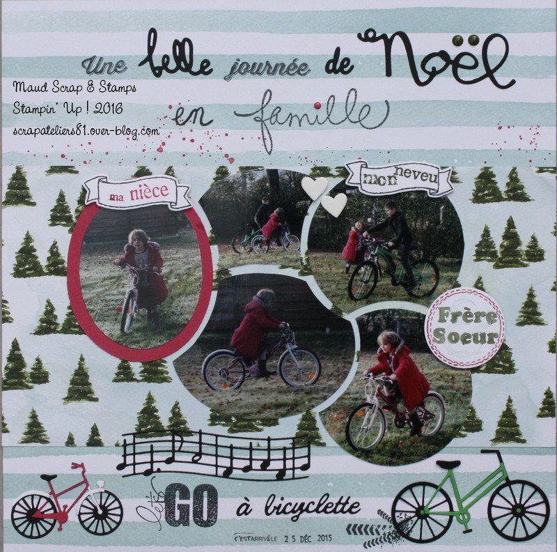 Page Une belle journée... à bicyclette