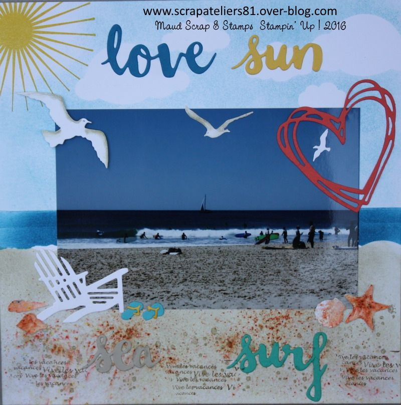 Page Love sea, surf and sun