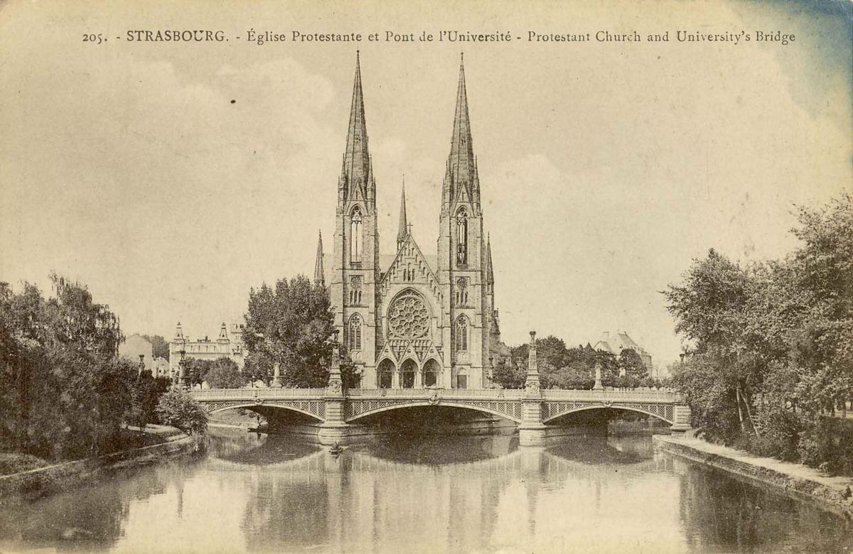 Mamie à Strasbourg