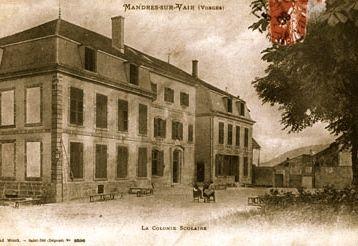 Mamie dans les Vosges