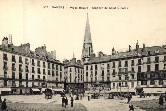 Mamie à Nantes