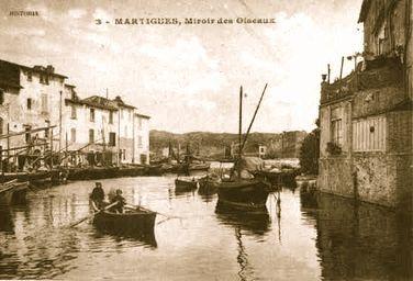 Mamie à Martigues