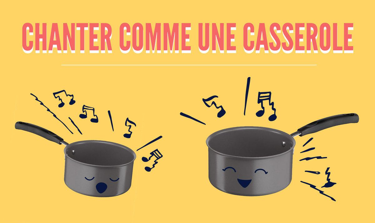 Les casseroles chantent