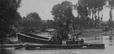 Chelles bord de Marne 1955