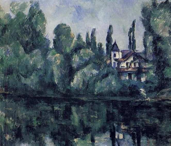 La Marne et Cézanne ...