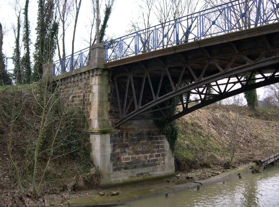 égouts bords de Marne et pont de la Goujonnette à Chelles