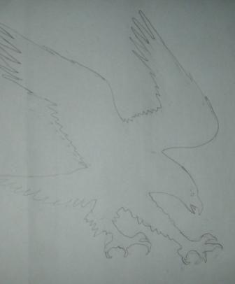 Girouette aigle