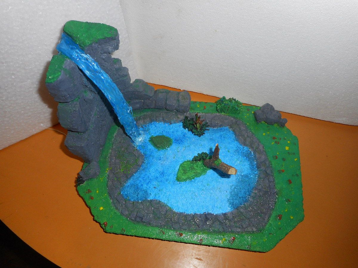 Diorama de la mare aux canards