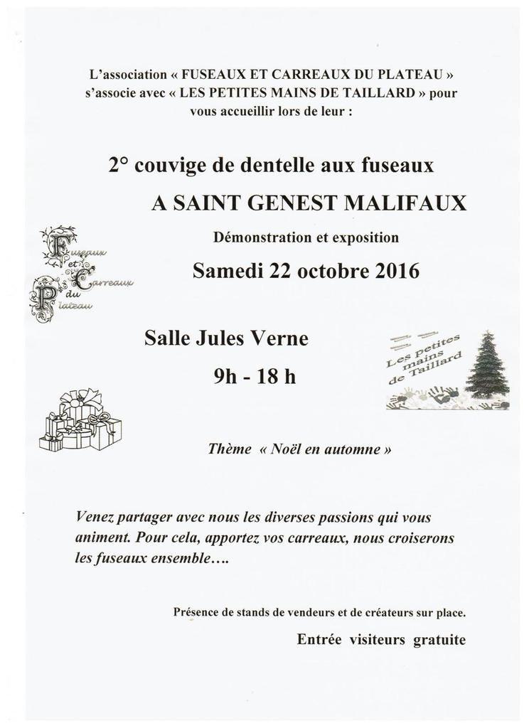 COUVIGE DE ST GENEST MALIFAUX