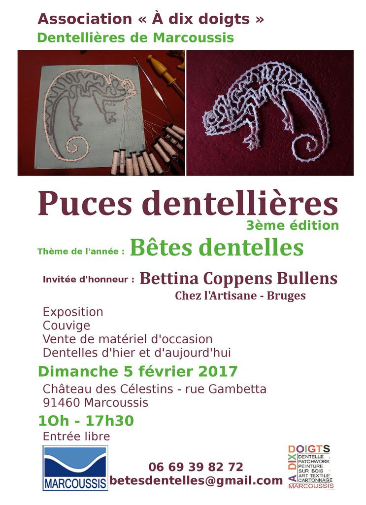 PUCES DENTELLIERES A MARCOUSSIS