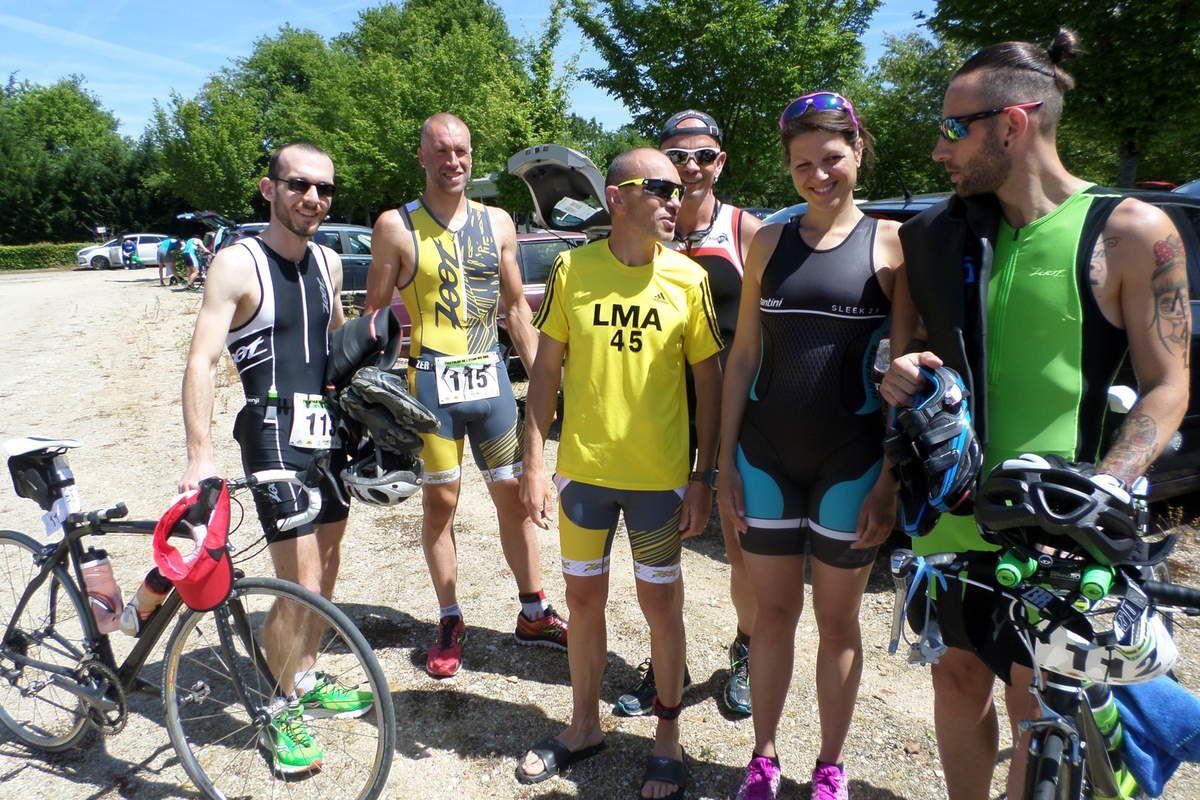 Triathlon de l'étang des Bois