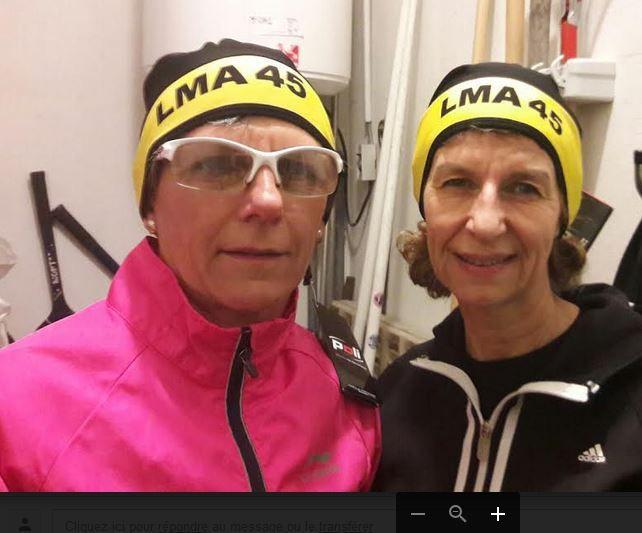 Présentation par deux mannequins de classe ... merci Anne et Corinne !