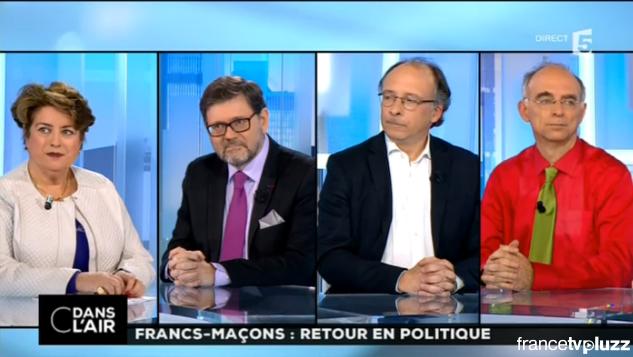 """""""C dans l'air"""" sur France 5 du jeudi 16 avril 2015."""
