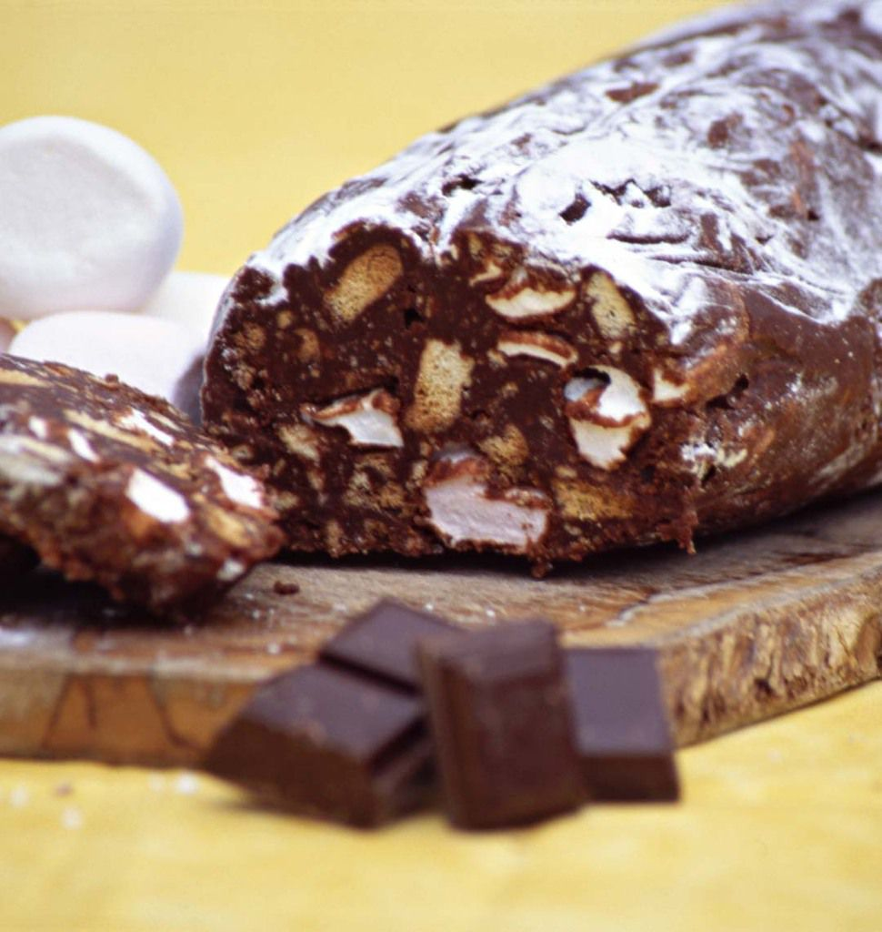 Saucisson.....au chocolat !