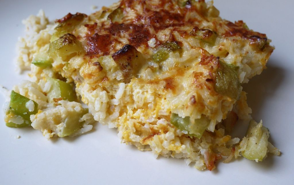 gratin de courgettes et de riz les paniers de sophie. Black Bedroom Furniture Sets. Home Design Ideas