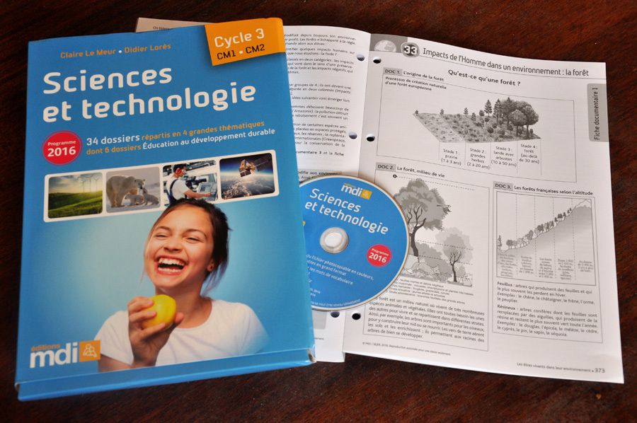 Sciences et technologie Cycle 3 - © Éditions MDI - Nathan / Florence Dellerie