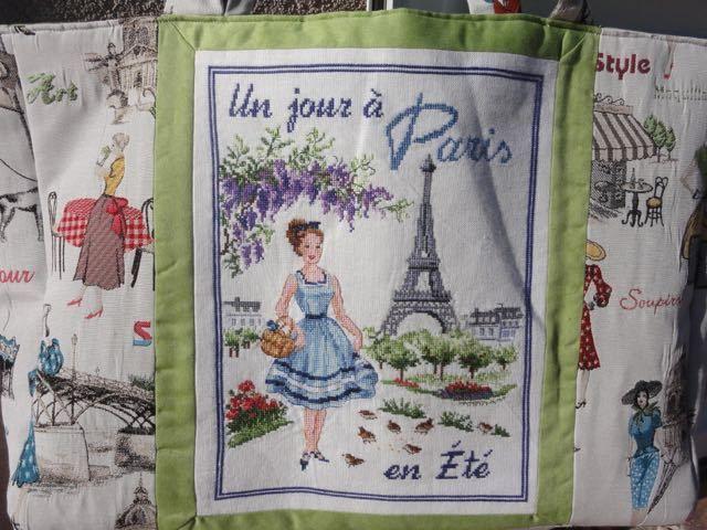 Sac &quot&#x3B;Un jour à Paris en été&quot&#x3B;