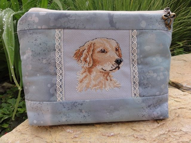 Pochette &quot&#x3B;Golden Retriever&quot&#x3B;