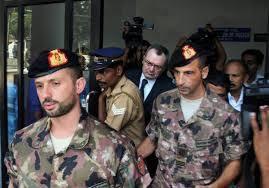 Taranto:caso marò:Latorre è provato,non deve ritornare in India