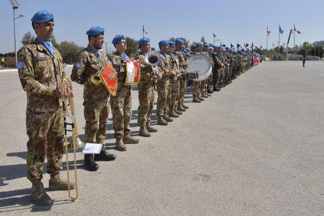 Alghero:Brigata Sassari rientra dal Libano:missione compiuta