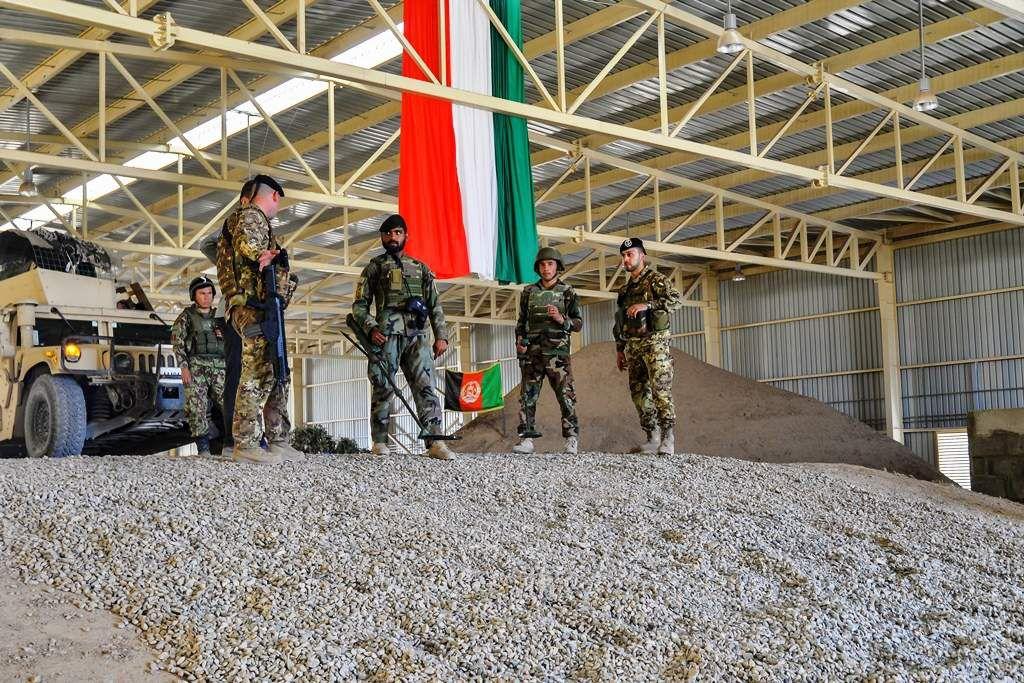 Addestramento Forze afgane