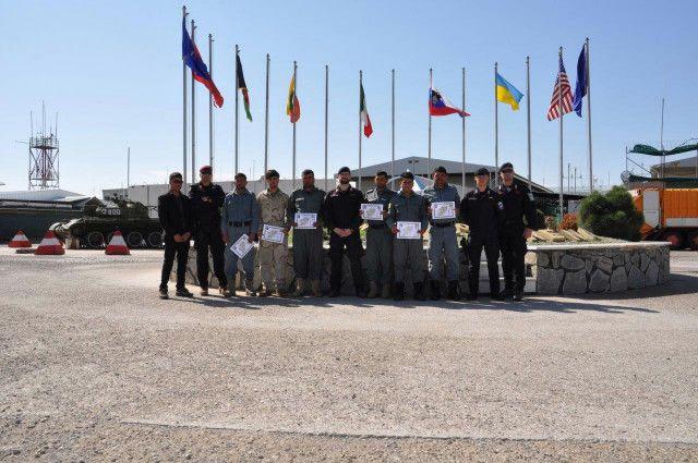 Afghanistan:Carabinieri addestrano polizia afgana