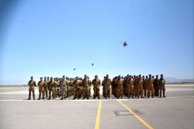 Afghanistan:militari italiani celebrano 10°anniversario fondazione&quot&#x3B;Task Force Fenice&quot&#x3B;