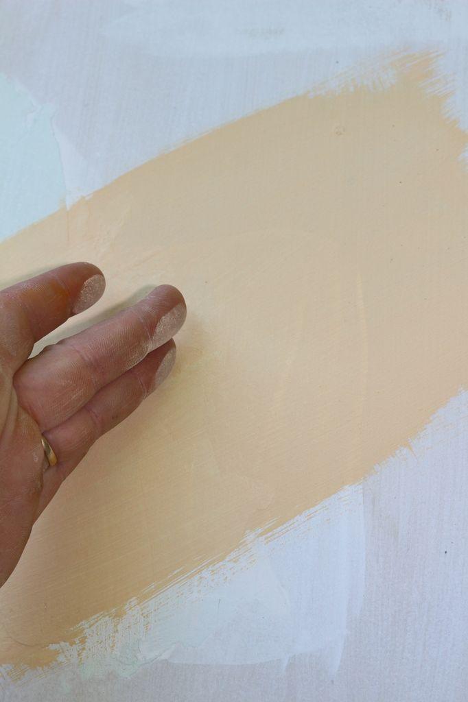 peindre à la chaux sur placo