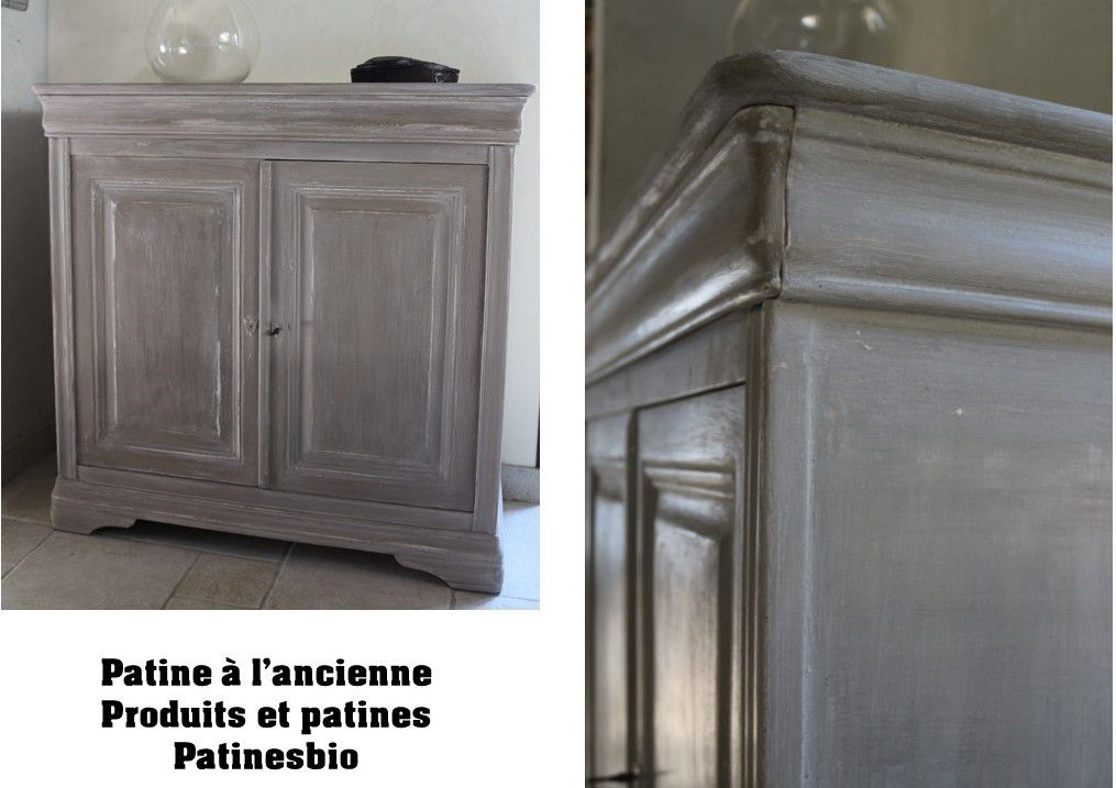 patines sur meuble meubles relook s meubles recycl s peintures et enduits naturelles et l. Black Bedroom Furniture Sets. Home Design Ideas