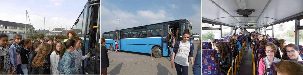 Action de sensibilisation des élèves de 6e à la sécurité dans les transports scolaires