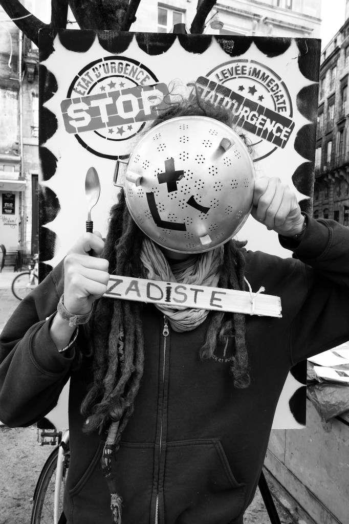 Mobilsation contre l'état d'urgence - Bordeaux - 6 février 2016