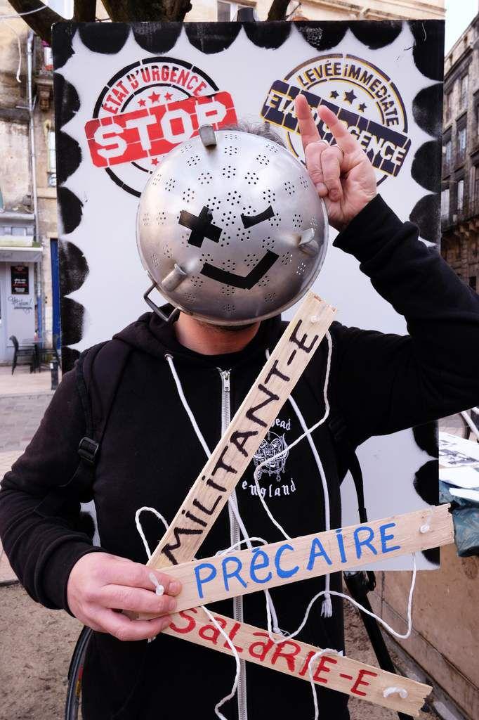 Mobilisation contre l'état d'urgence - Bordeaux - 6 février 2016