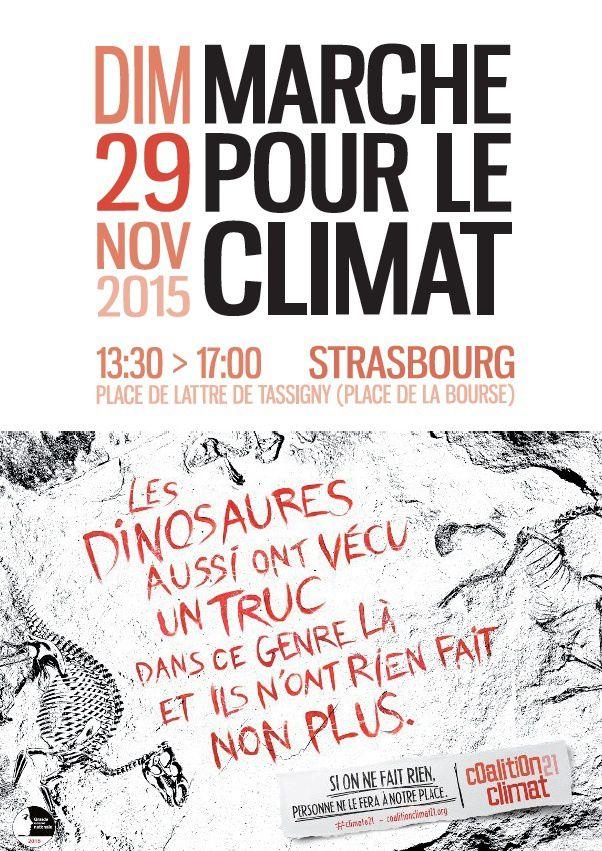 Marche pour le climat maintenue