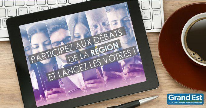 Grand Est : dialogue citoyen