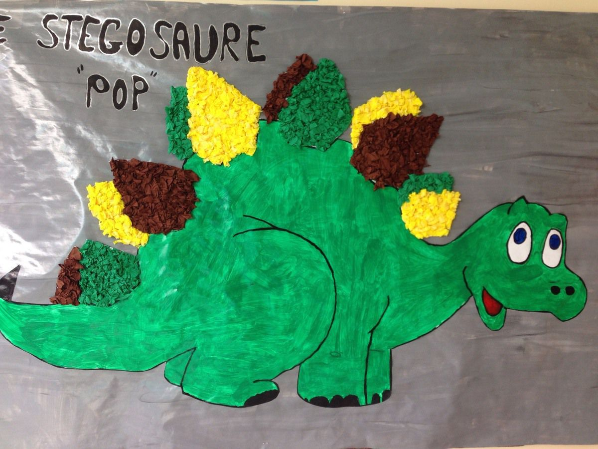 CHEFS D'OEUVRES DES N.A.P. : les dinosaures ..... peints par les Petites Sections