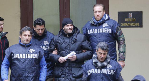 Arrestation d'Alessandro Giannelli (Il Mattino)
