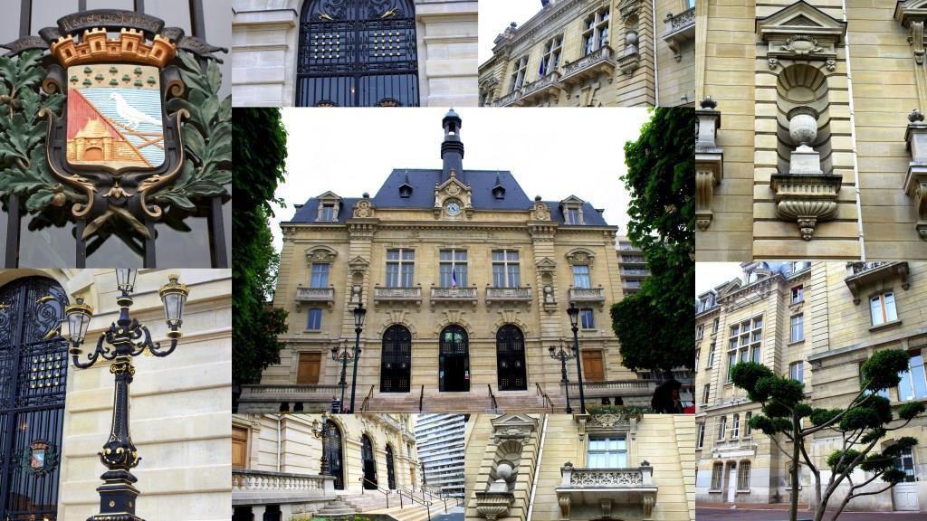 Quelques vues de la façade principale