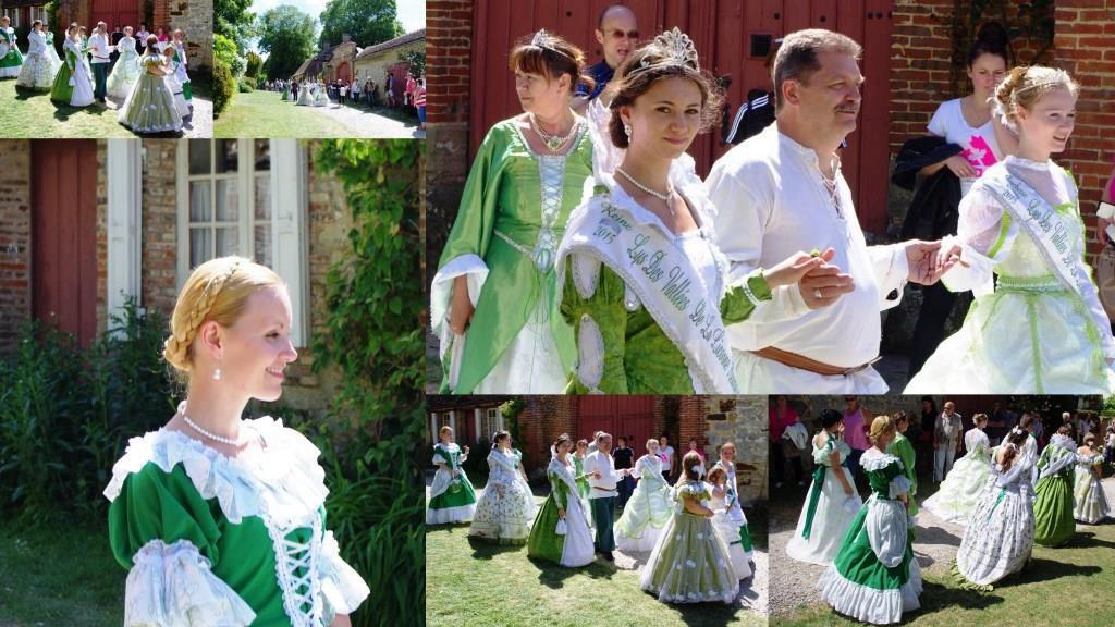 Les reines des Lys de Beauvais étaient invitées à la fête