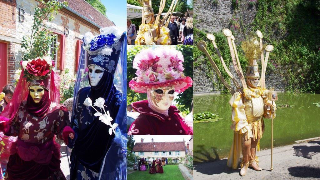 Toute comme les belles du carnaval de Venise