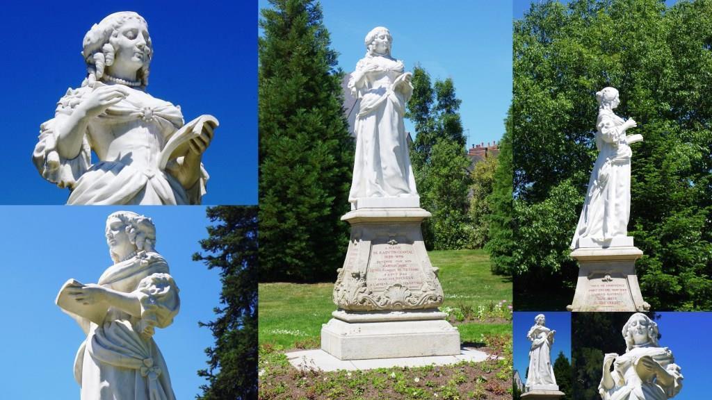 Marie de Sévigné en Bretagne Les Rochers et sa statue à Vitré