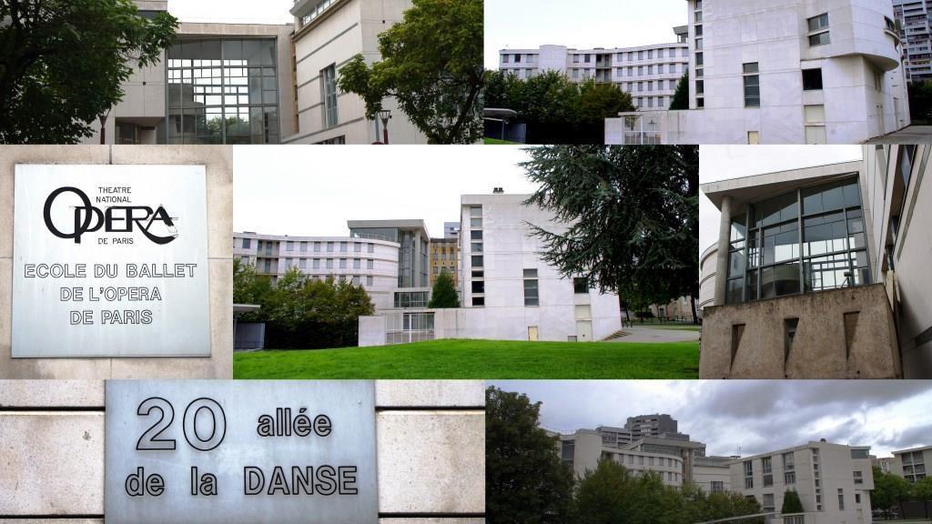 L'Ecole de Danse de l'Opéra de Paris située au 20, rue de la Danse, nanterre