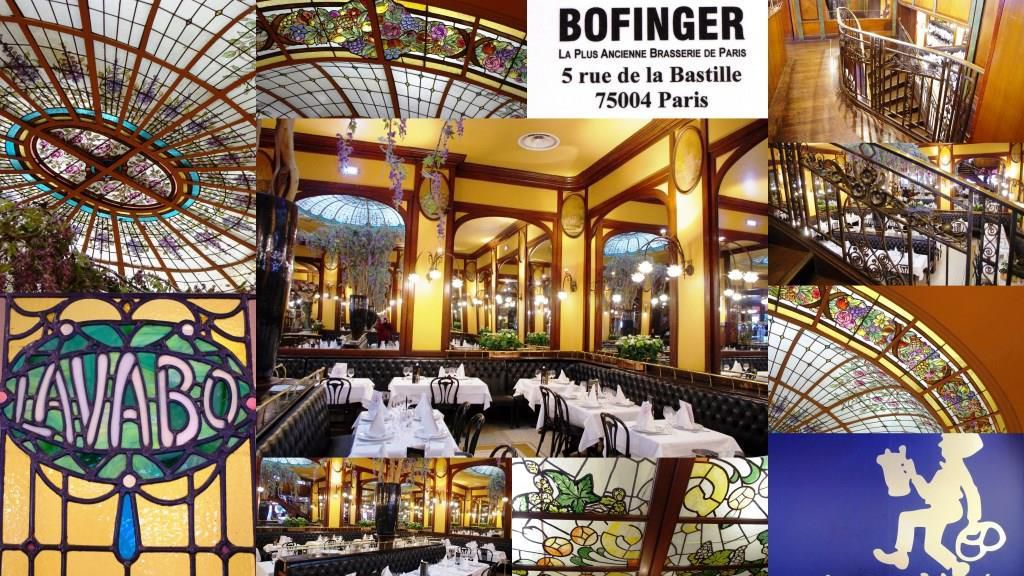 La Brasserie Bofinger à Paris, la plus ancienne de la capitale