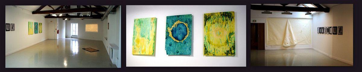 Juliette Mogenet Acrylique sur verre100 x 70 cm