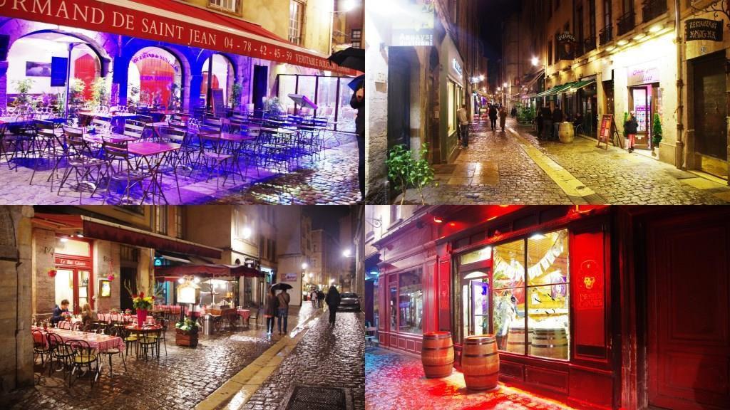 Lyon la nuit, la vie de ses fameux bouchons