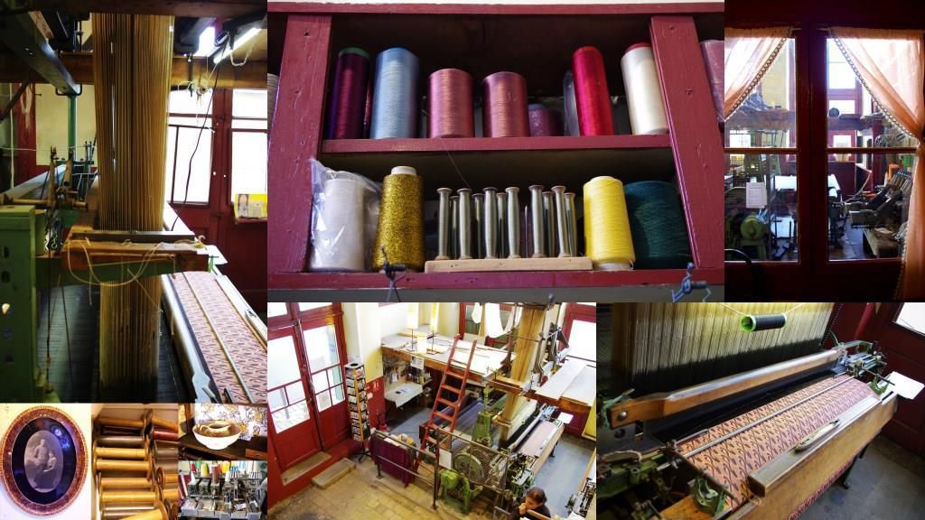 Un atelier de canuts à la Croix-Rousse