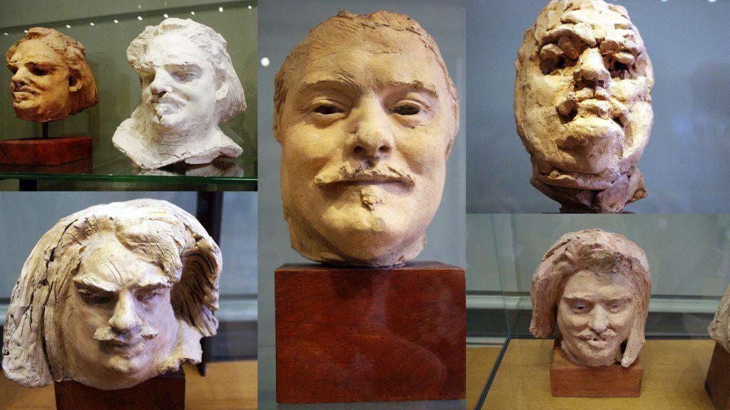 Etudes pour Balzac (Salles du Musée Rodin)