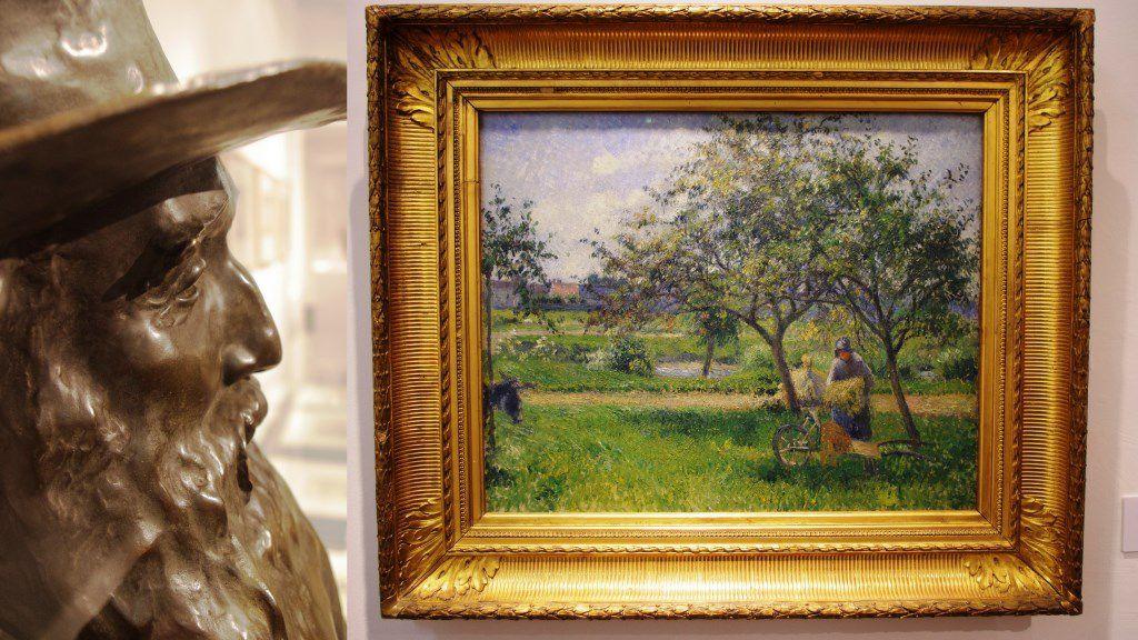 Buste de Camille Pissarro, bronze de Paul Paulin 1903-04
