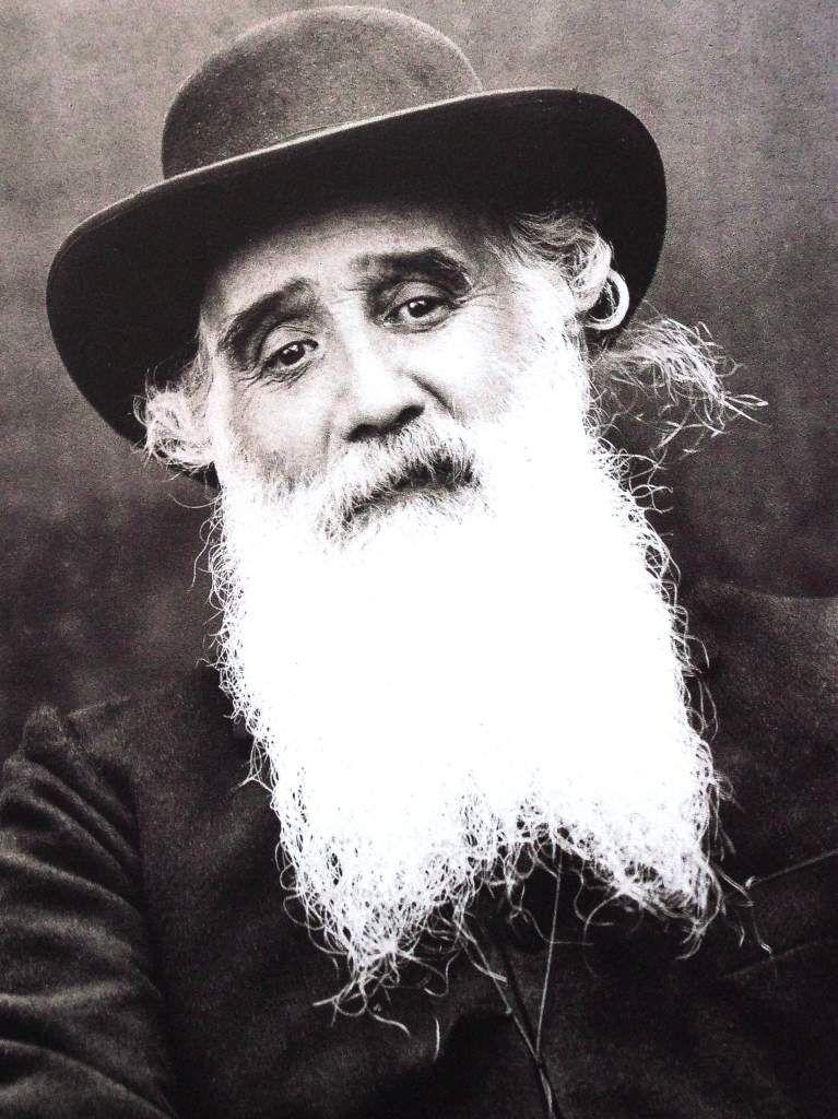 Camille Pissarro photographie vers 1895-1900 sources Musée Pissarro Pontoise