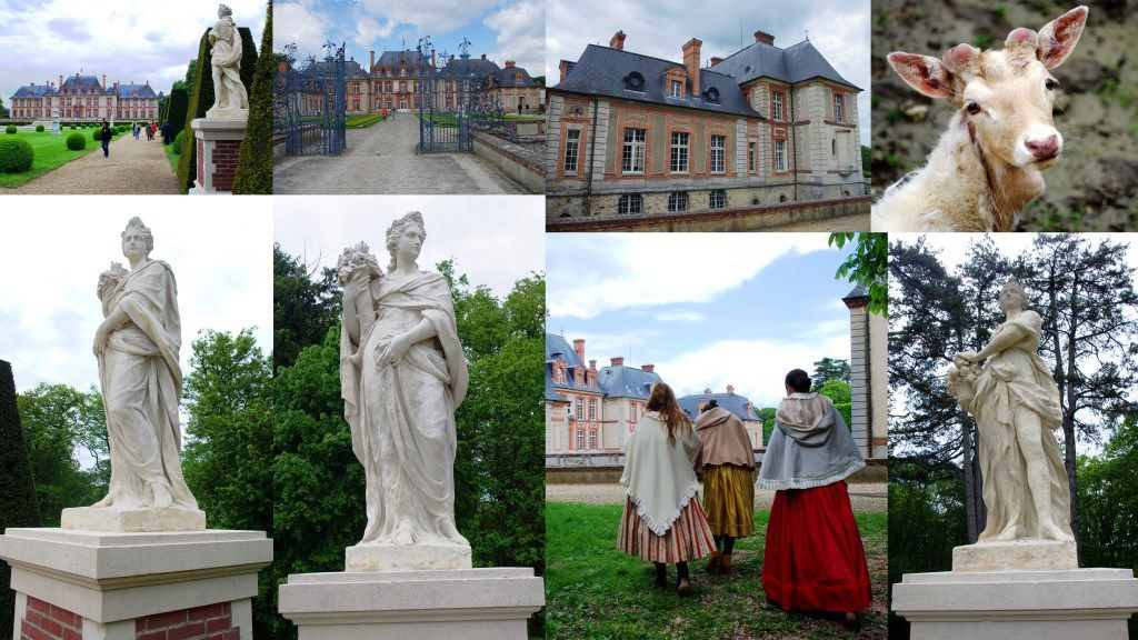 Le château de Breteuil et les contes de Perrault
