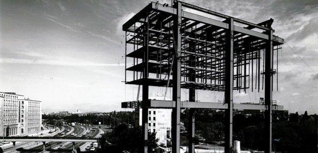 La Fondation Avicenne en construction